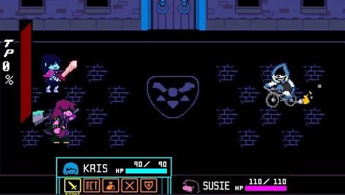 Deltarune: Chapter 1 Gameplay