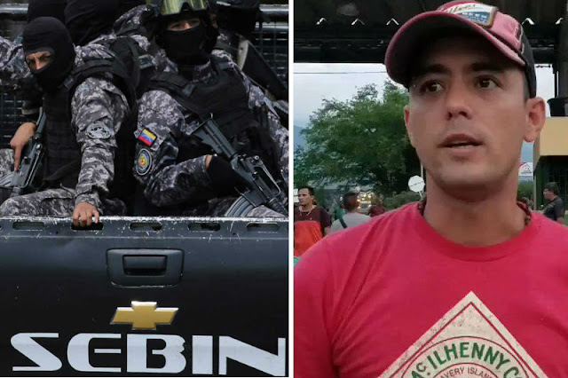 """Periodista Jesús Medina Ezaine está en """"La Tumba"""" del SEBIN siendo torturado"""