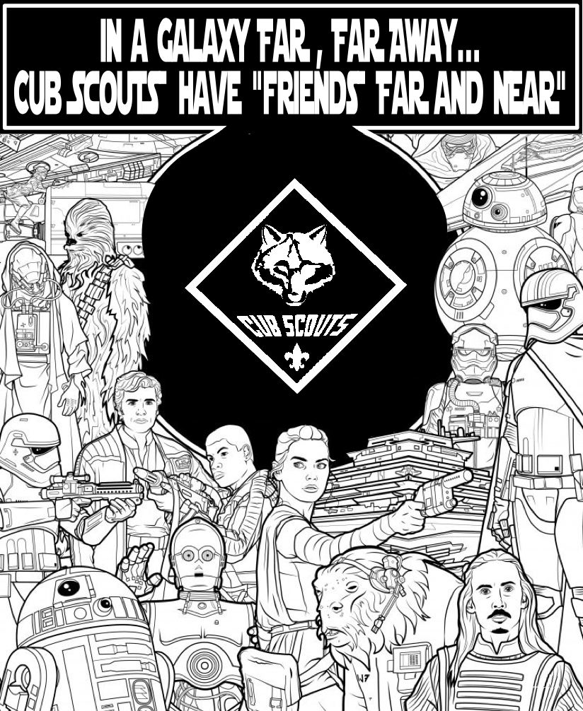 Akela 39 s council cub scout leader training december 2015 for Cub scout coloring pages