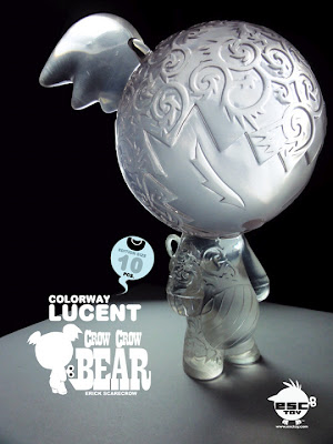 ESC Toy - Lucent Crow Crow Bear Resin Figure by Erick Scarecrow.jpg