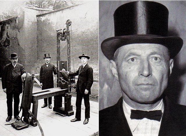 Johann Reichhart seorang eksekutor hukuman mati paling sadis