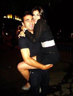 Dani Carvajal And His Girlfriend Marta Morales