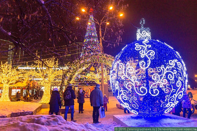 С Рождеством! Рождественская ночь была самой холодной в Москве за 125 лет!