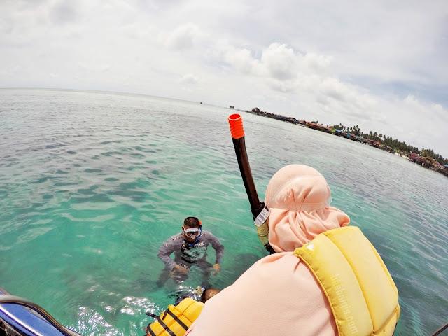 Snorkeling in Derawan Island