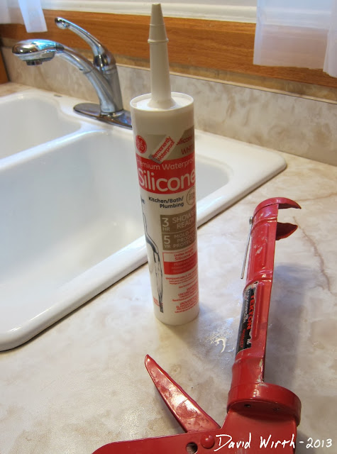 best silicone caulk to use for sink and counter top