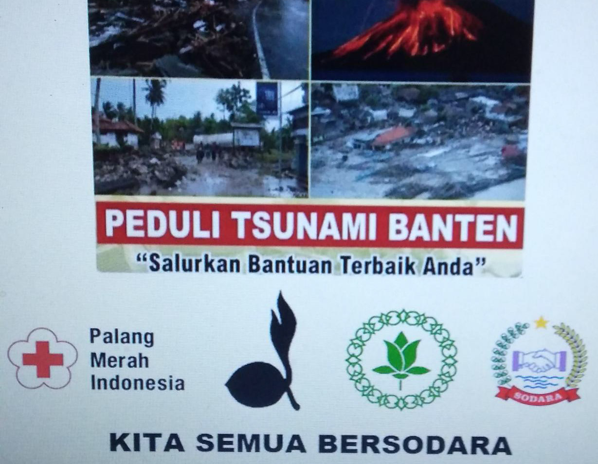 Pemuda Tangerang Utara Galang Dana Kemanusiaan  Untuk Tsunami Banten
