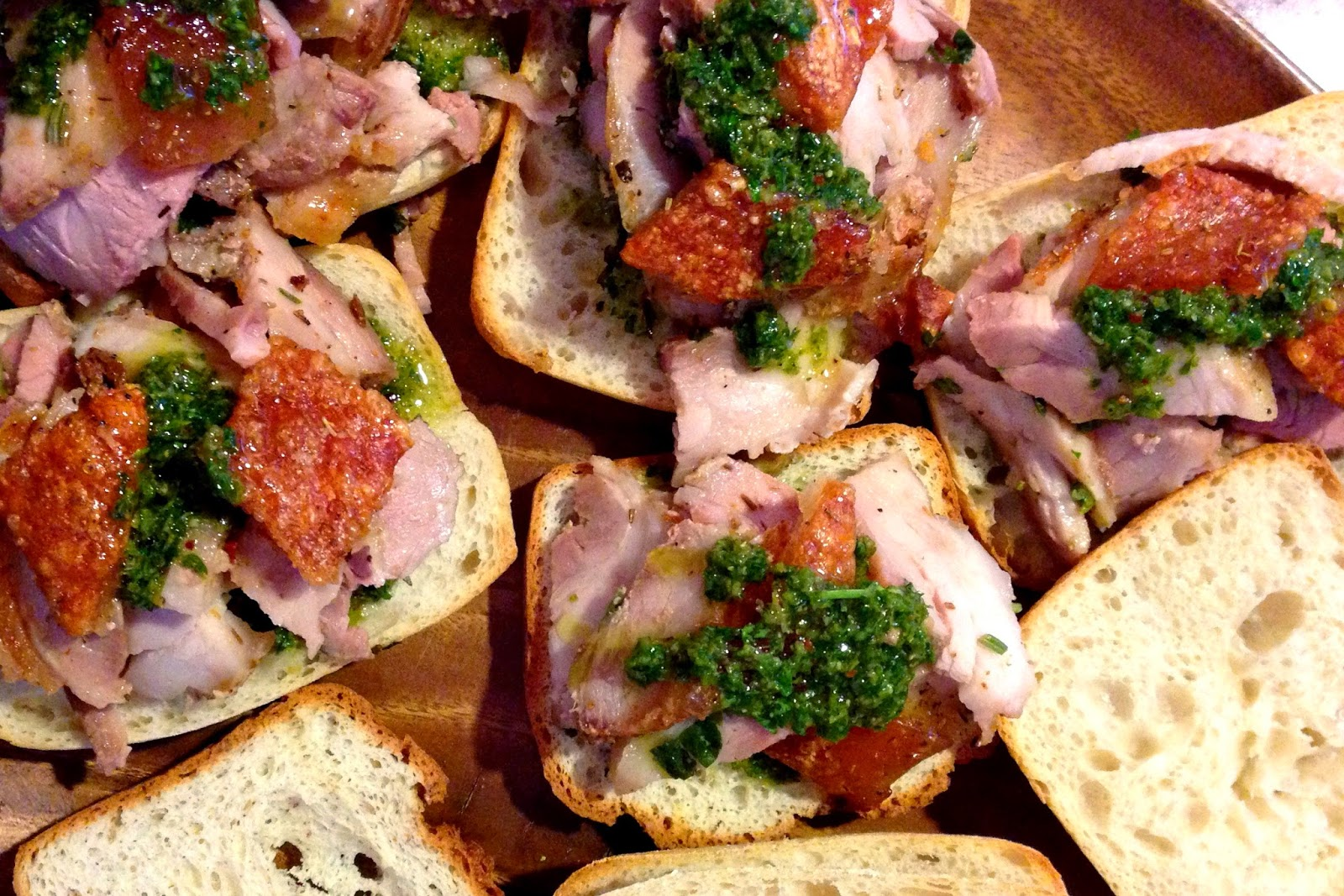 Umani Cucina Food Truck Utah Homemade Porchetta Sandwiches With Salsa Verde Crack Ling For