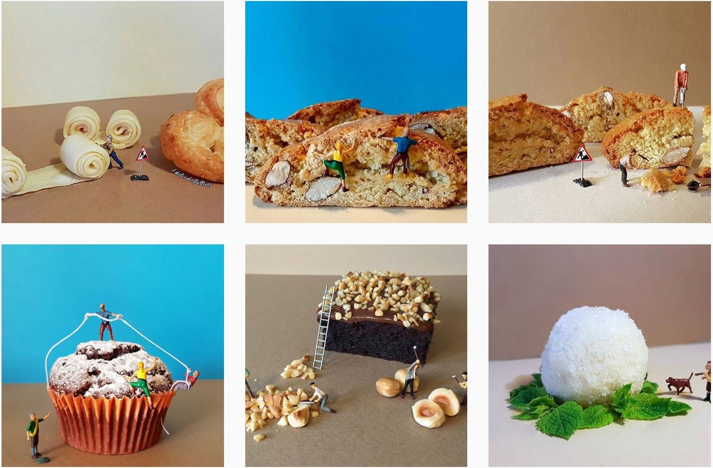 Pastadan Ve Tatılardan Yapılmış Minyatür Figürler