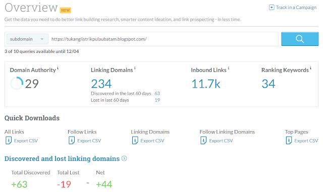 ialah metrix yang dipakai untuk menghitung tingkat otoritas domain atau url situs web  Penjelasan Lengkap: Domain Authority Dan Page Authority