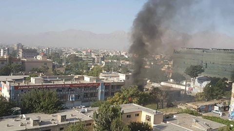 At least 10 people were killed and several others were injured in a car bomb attack in the western side of Afghan