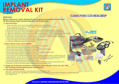 DAK BKKBN 2017, Implant Kit BKKBN 2017, Implant Kit DAK BKKBN 2017, Implant Removal Kit, Implant Removal Kit BKKBN 2017, Implant Removal Kit DAK BKKBN 2017
