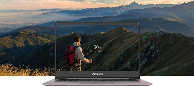 layar ASUS ZenBook UX410UQ