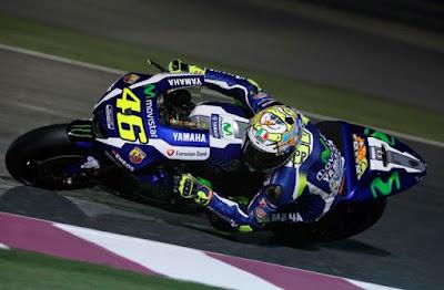 Valentino Rossi, bangga bakal start di posisi dua pada GP Argentina