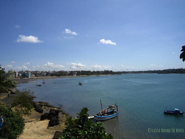 Mombasa desde el fuerte Jesús