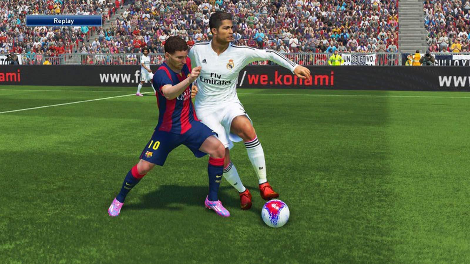 تحميل لعبة PES 2015 مضغوطة برابط واحد مباشر + تورنت كاملة مجانا