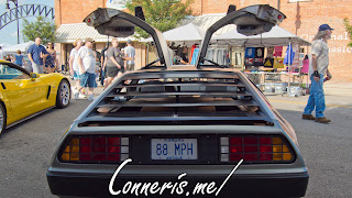 DMC Delorean Rear