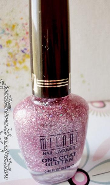 Just Tis Ems Nail Polish Milani One Coat Glitter