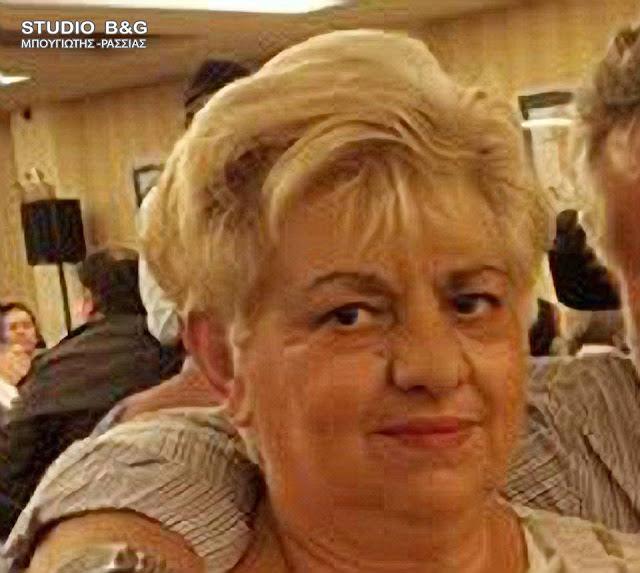 Συλλυπητήρια της ΝΟΔΕ Αργολίδας για τον θάνατο της Διδώ Αντωνοπούλου