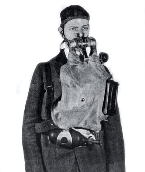 Oxygen Rescue Breathing Apparatus, New York Navy Yard Type
