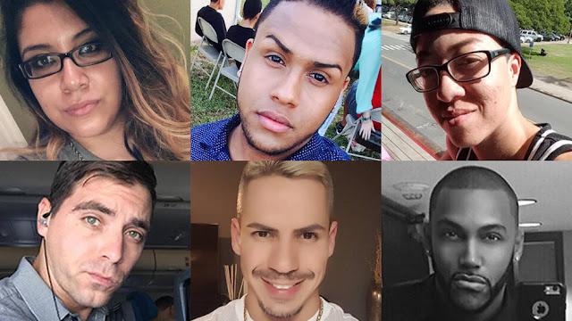 Orlando victims, 2