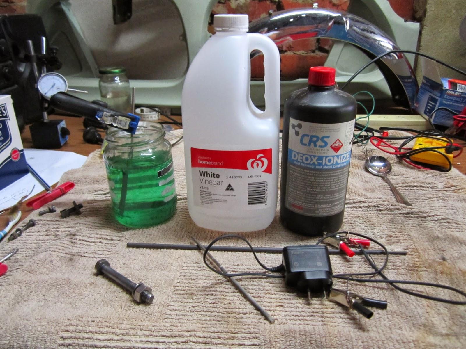 Restoration Yamaha LS3 1972: DIY Nickel Plating bolts and nuts