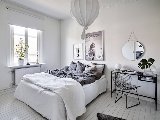 my scandinavian home Duvet day in this Swedish bedroom?!
