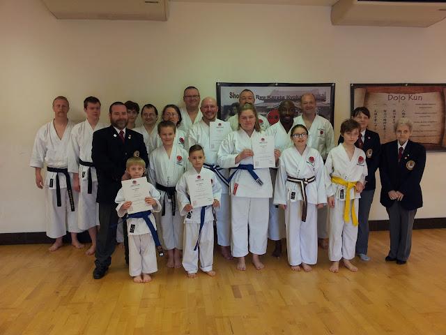shotokan karate grading sidcup