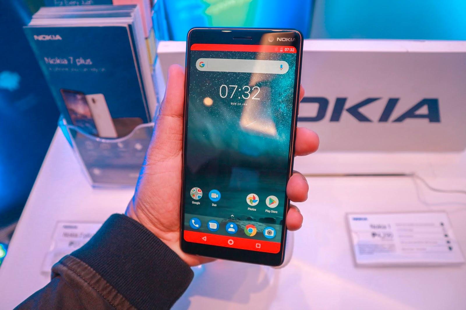 Nokia 7 plus Nokia 6 Nokia 7 Nokia 8810 Nokia 1 Jexx Hinggo