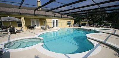 orlando pool home near disney world
