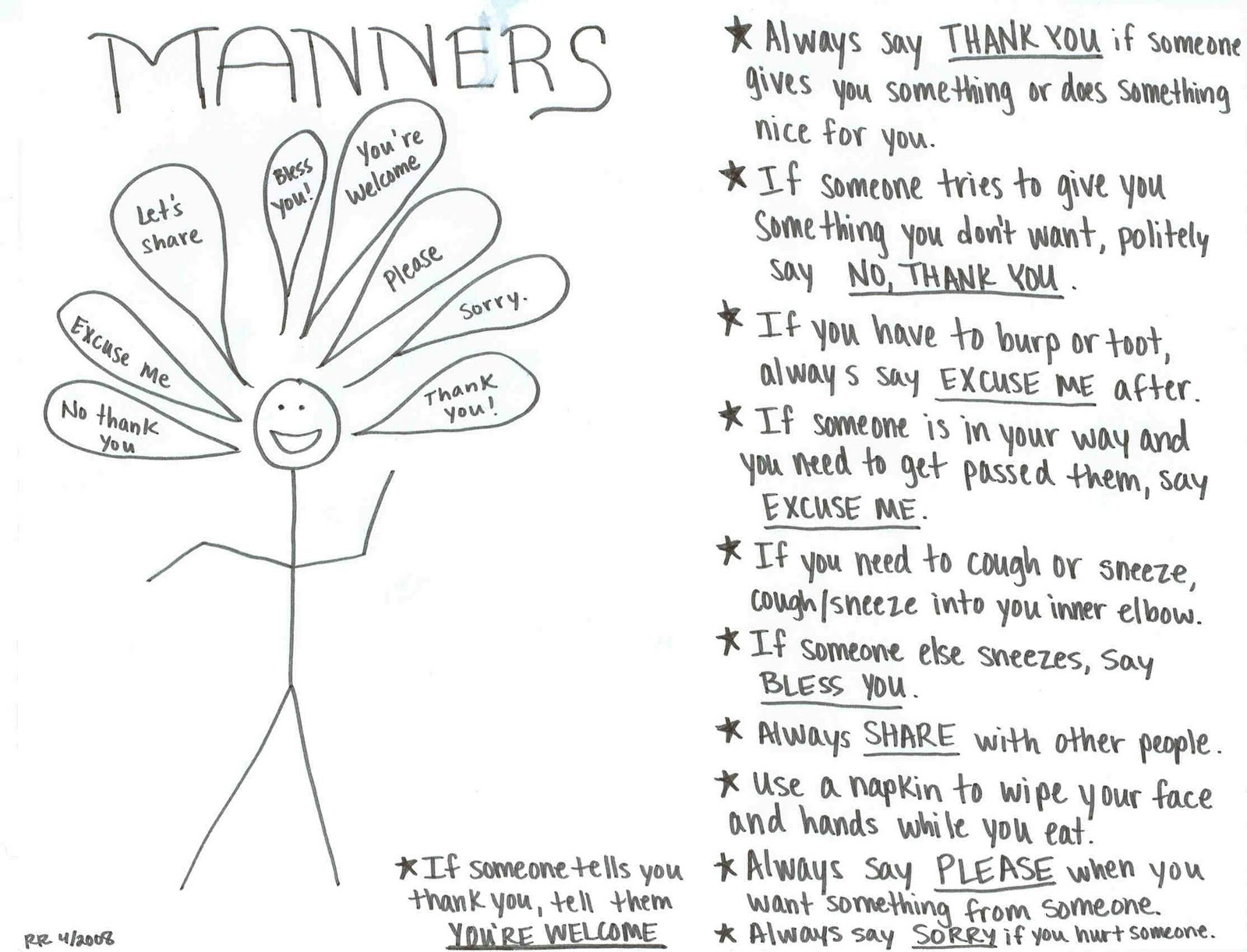 Heaps Of Laundry Theme Of The Week Manners