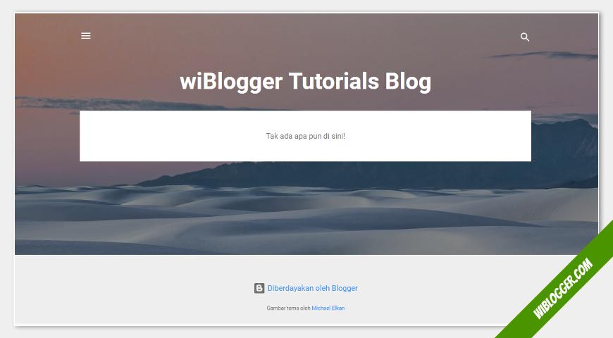 cara membut blog