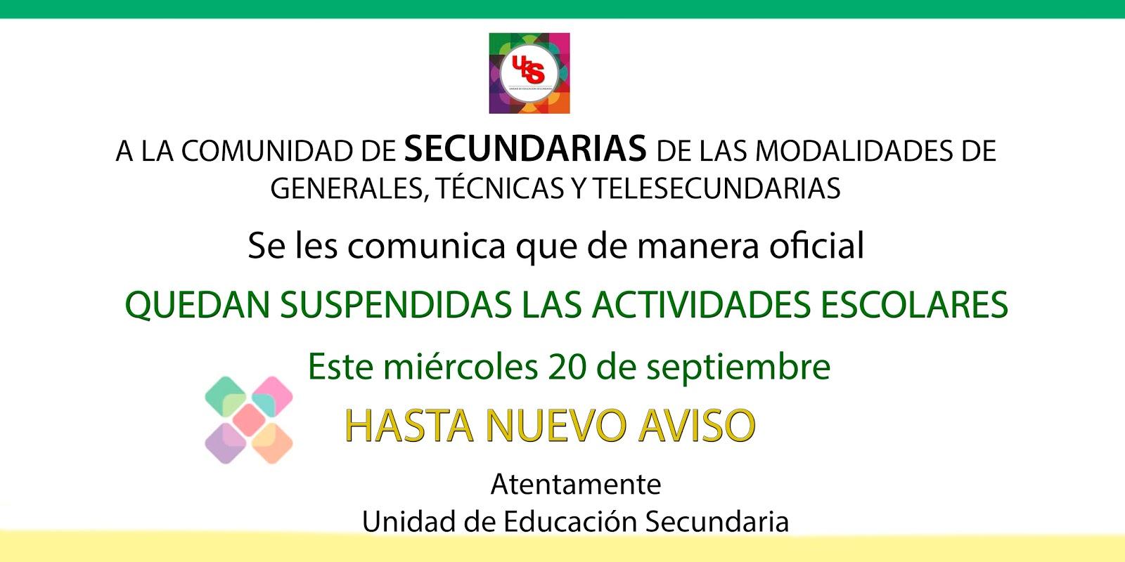 Unidad de Educación Secundaria - IEEPO: 2017
