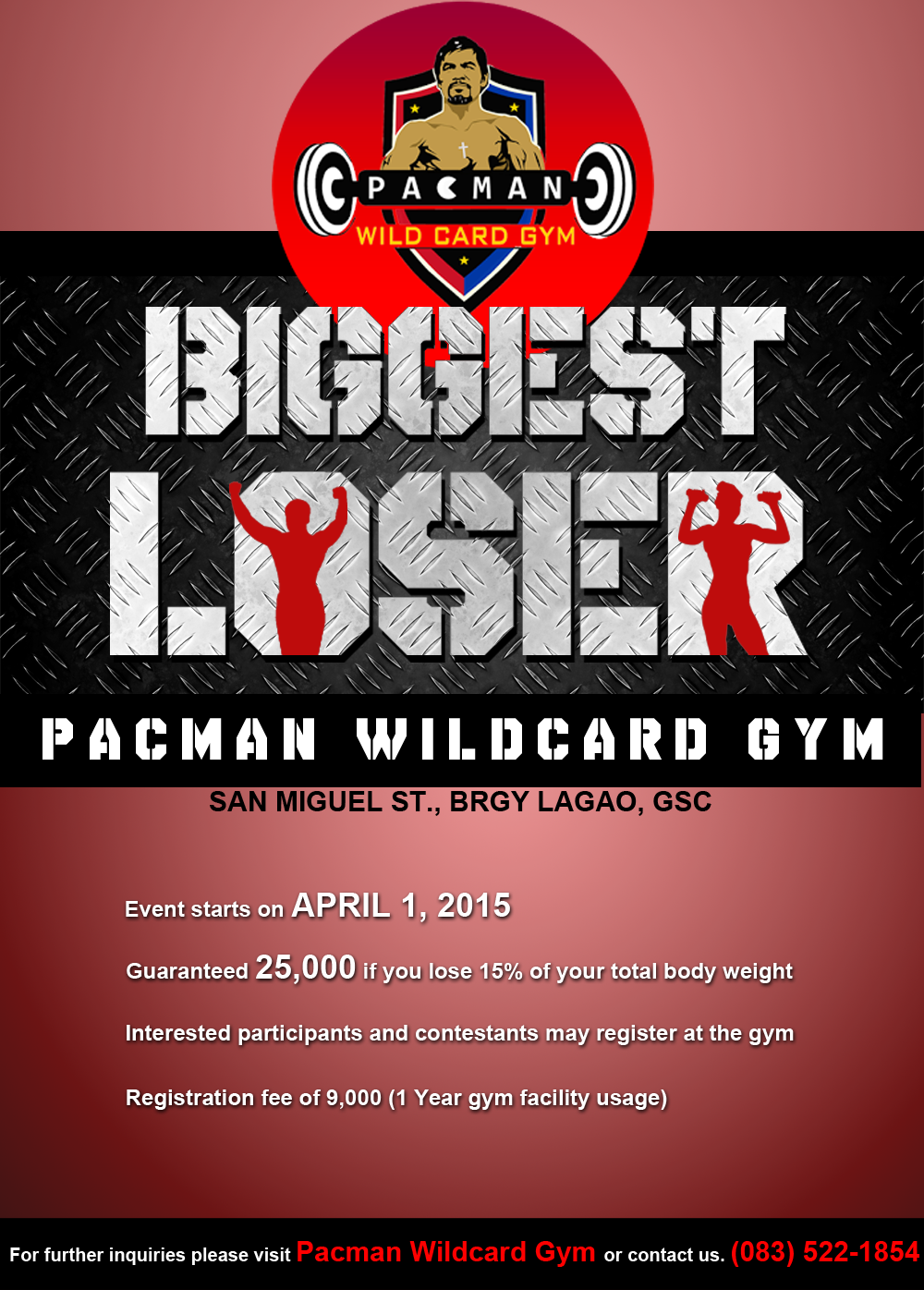 Manny Pacquiao's 2nd Biggest Loser Challenge