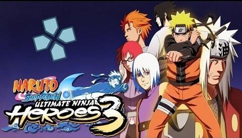 Naruto Shippuden: Ultimate Ninja Heroes 3 (USA) PSP ISO