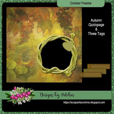 October freebie #3
