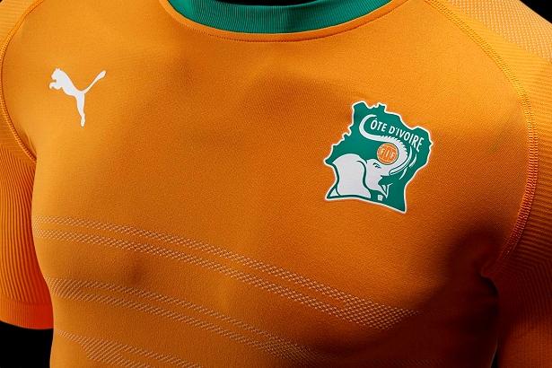 Puma lança nova camisa titular da Costa do Marfim - Show de Camisas a5d963d93e412