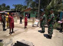 Pangdam XIII/Merdeka Kunjungi Pulau Pulau Terluar Sulut