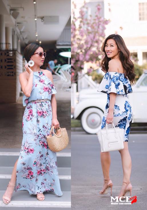 Vestidos de verano para mujeres bajas