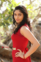 Telugu Actress Zahida Sam Latest Pos in Red Gown at RF Films New Movie Opening  0139.JPG