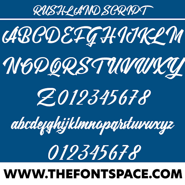 Rushland Script Download Font Free