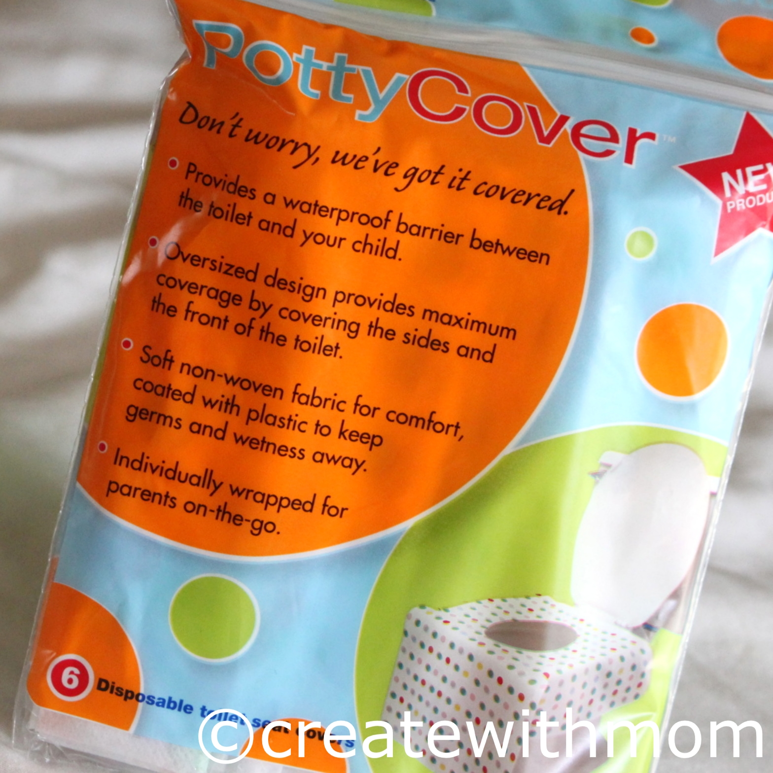 Create With Mom Toilet Seat Covers
