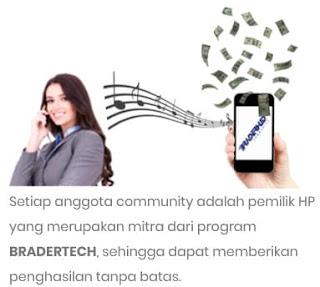 Cara dapat penghasilan dari nada sambung ponsel.