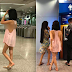 Pinay model in skimpy outfit while queueing for ATM drew backlash