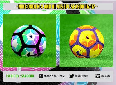 NIKE ORDEM 4 & Hi-Vis EPL Season 16/17
