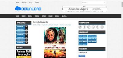 Template para Blogger de Download Gratis 0963