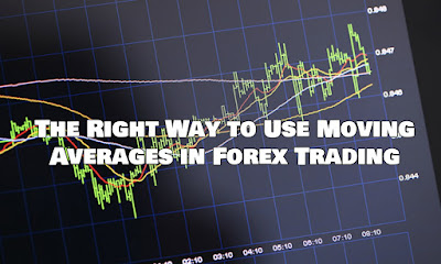 The Right Way to Use Moving Averages in Forex Trading