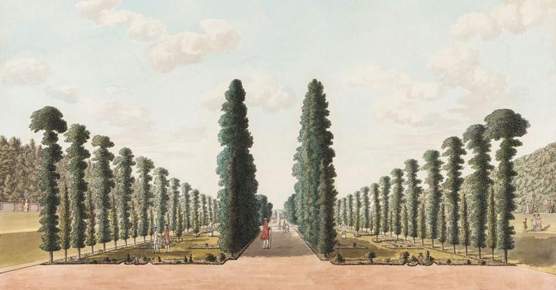'The Privy Garden, Hampton Court Palace' John Spyers © State Hermitage Museum