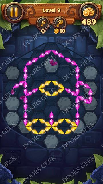 Gems & Magic [Malachite] Level 9 Solution, Walkthrough, Cheats