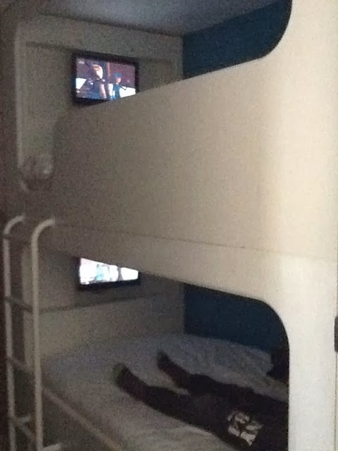 Butlins Wave Hotel bunk beds