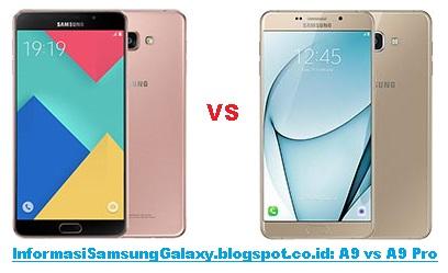 Harga dan Spesifikasi Samsung Galaxy A9 (2016) vs A9 Pro (2016)
